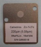 蛍光X線標準板Calmetrics