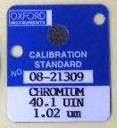 蛍光X線標準試料OXFORD